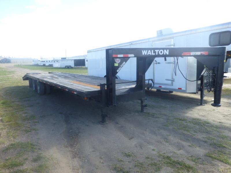2012 Walton 24K Tandem Dual Flatbed