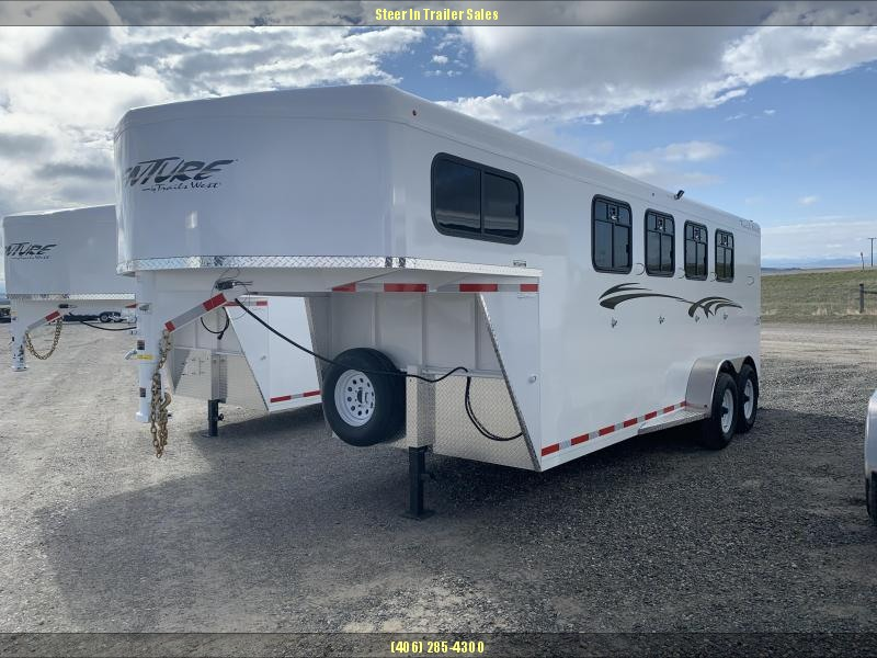 2020 Trails West Adventure MX GN 4 Horse Trailer