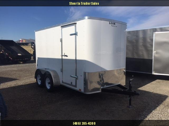 2019 Look 6X12 Enclosed Cargo Trailer