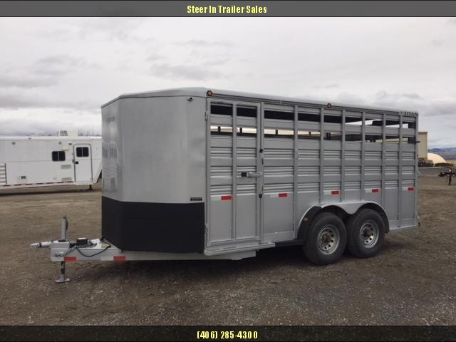 2016 Titan 16 Bp Stock/Combo Trailer