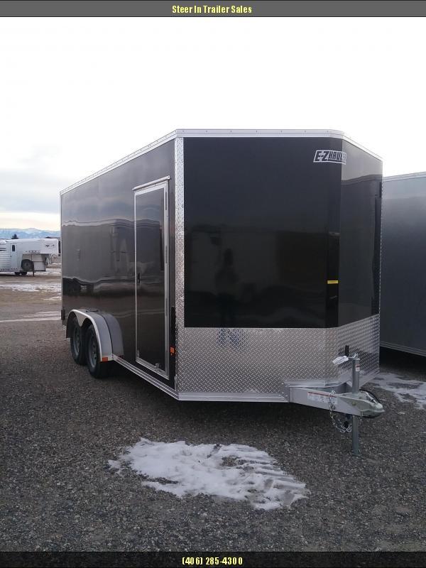 2019 EZ Hauler 7.5X16 Enclosed Cargo Trailer