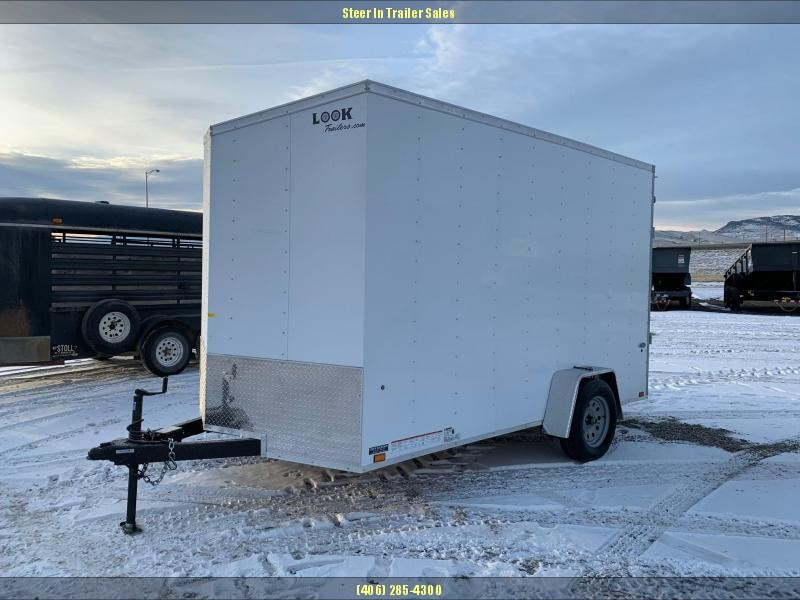 2020 Look 7X12 Enclosed Cargo Trailer