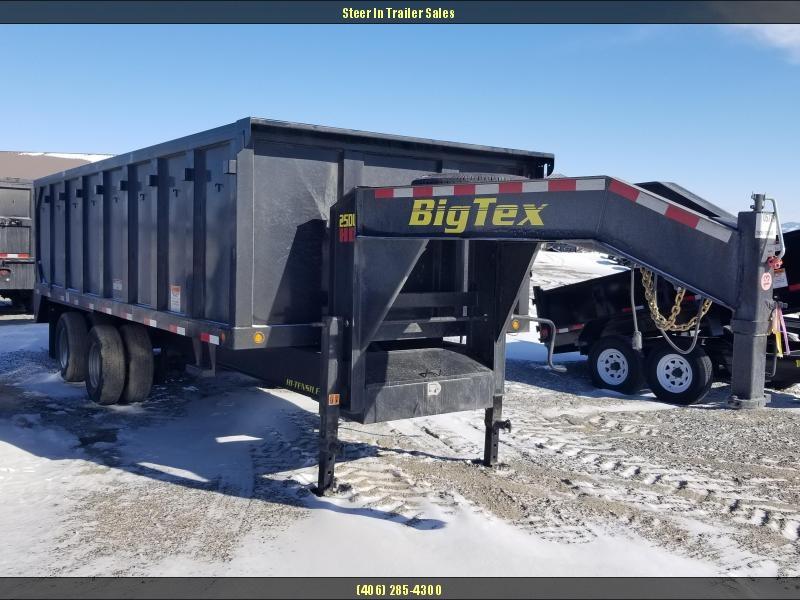 2018 Big Tex 25DU-20 Deck Over Dump Trailer