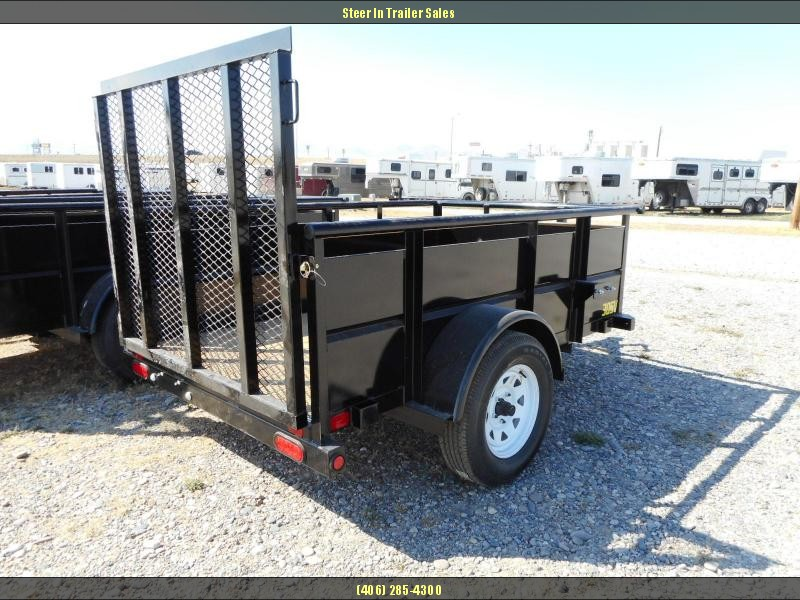 2017 Big Tex  30SV-08BK Utility Trailer