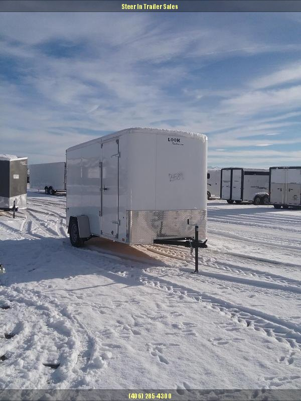 2019 Look 6 x 12 Enclosed Cargo Trailer