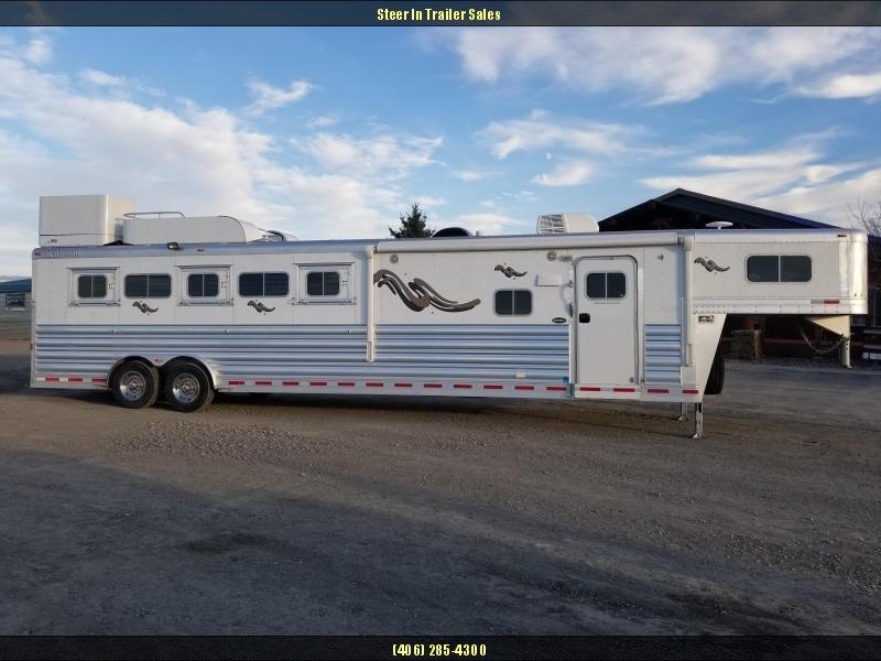 2013 Platinum Coach Platinum Series 5H LQ Horse Trailer