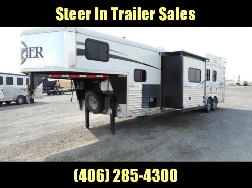 2016 Bison Ranger 3H Horse Trailer