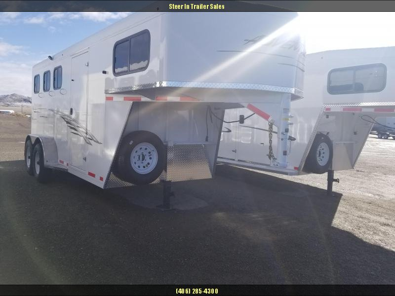 2018 Trails West Adventure MX GN 3-Horse Trailer