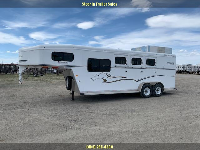 2012 Trails West Manufacturing 3H CLASSIC Horse Trailer
