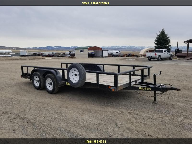 2015 Big Tex Trailers 70PI-16X Utility Trailer