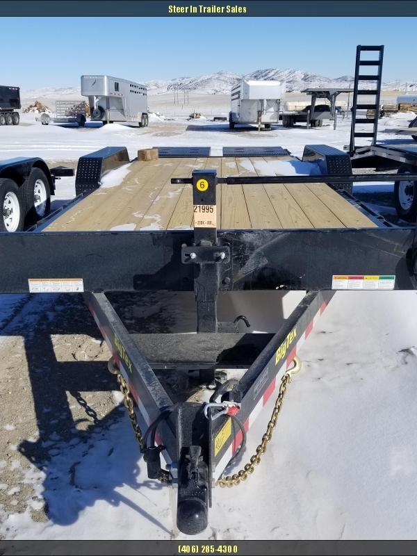 2018 Big Tex 14ET-20 Flatbed Trailer With Mega Ramps