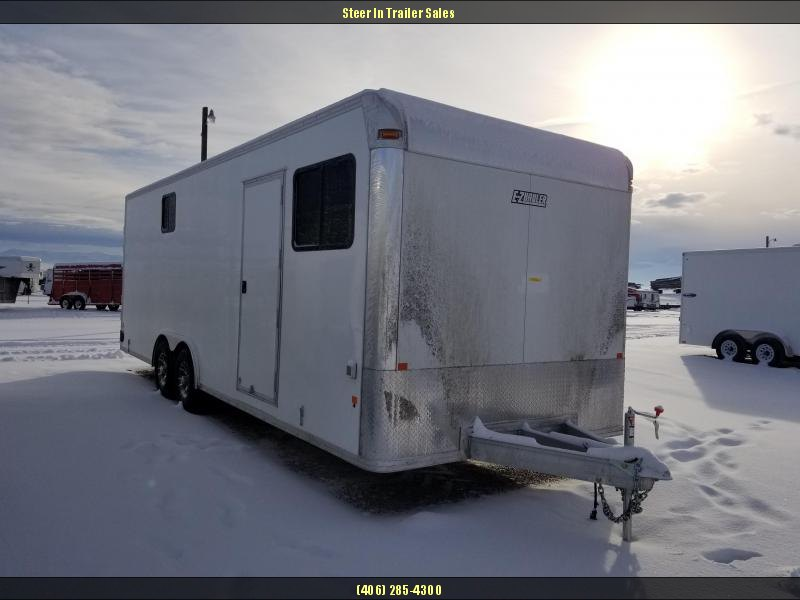 2018 EZ Hauler 8X24 Jobsite Enclosed Cargo Trailer