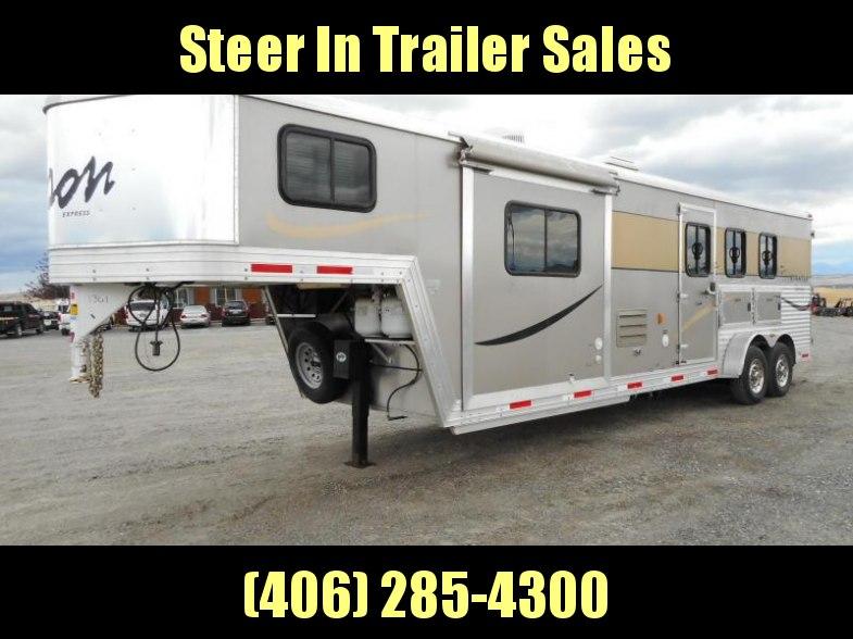 2012 Bison Stratus Express 3-Horse Trailer