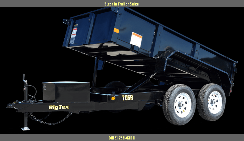 2019 Big Tex Trailers 70SR Dump Trailer