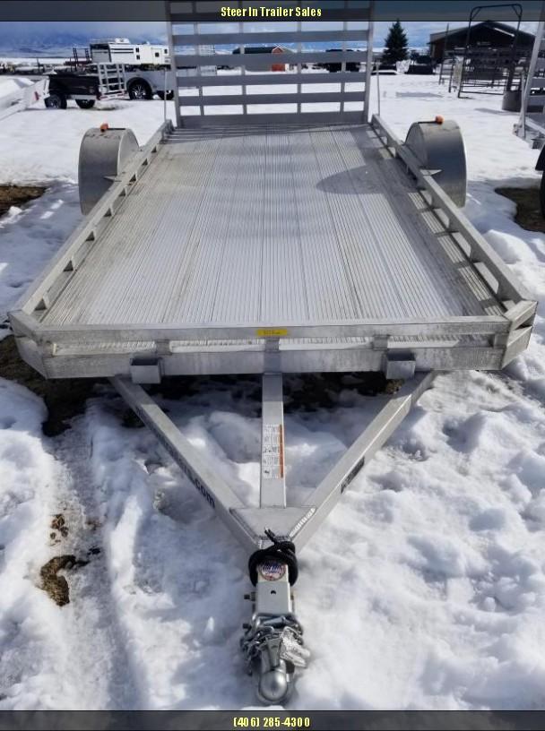 2018 Mission MU 6.5X14F-A Utility Trailer