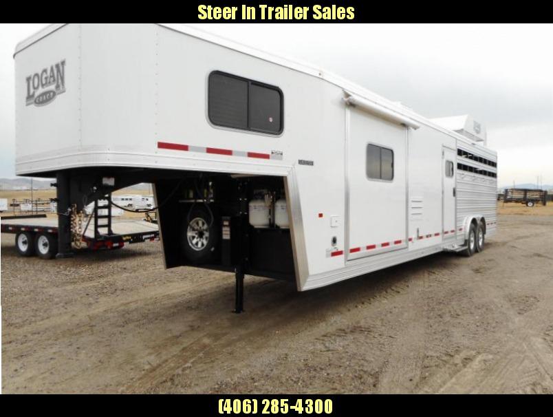 2017 Logan Coach Limited 812 Horse Trailer