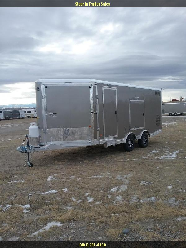 2019 Mission 8.5X18 Snowmobile Trailer