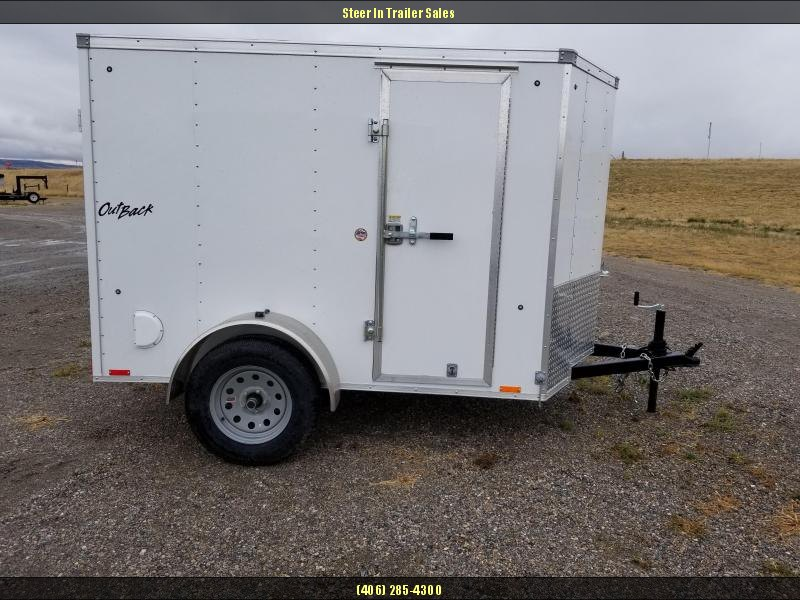2018 Pace American Outback 5X8 Cargo Trailer