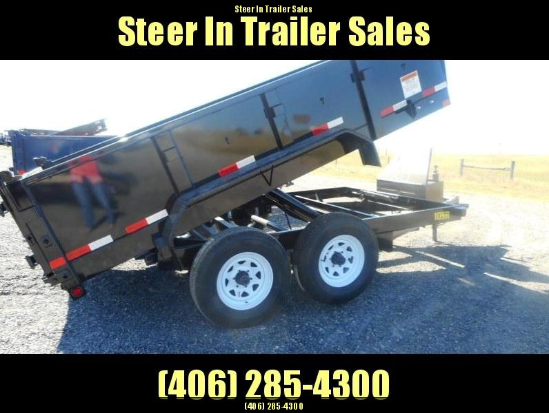 2018 Big Tex  10SR-12 Dump Trailer