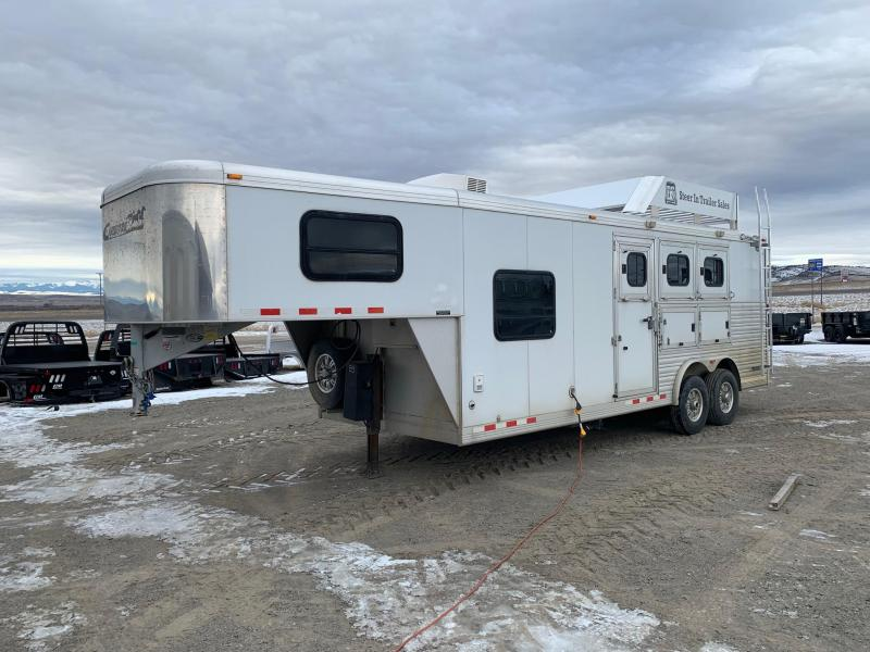 2007 Cimarron 3H Living Quarters Trailer