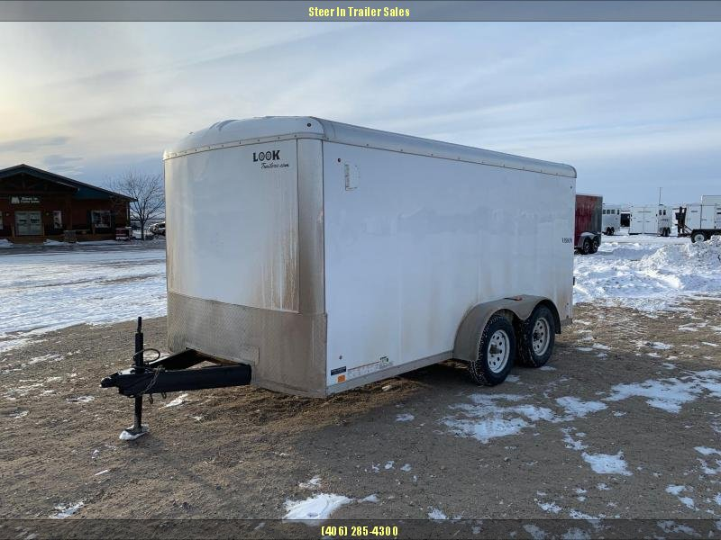 2016 Look 7X14 Enclosed Cargo Trailer