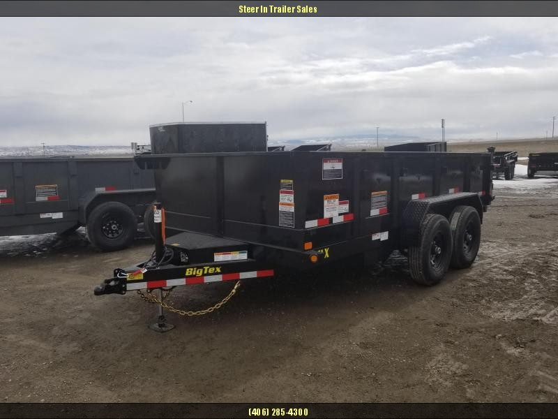 2018 Big Tex 14LX-14 w/ Hydraulic Jack Dump Trailers