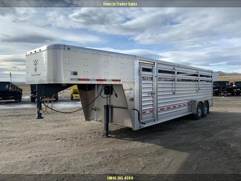 2019 Wilson 24' Ranch Hand Livestock Trailer