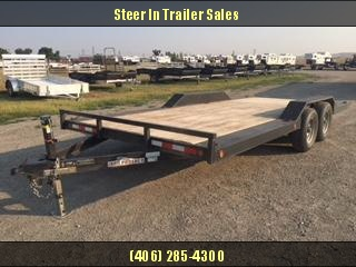 2015 Iron Panther 18 Equipment Equipment Trailer