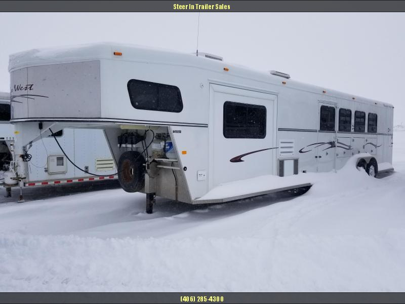 2005 Trails West 4H LQ Horse Trailer