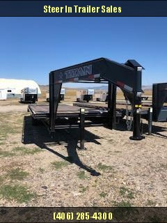 2018 Titan 20+6 Flatbed Trailer