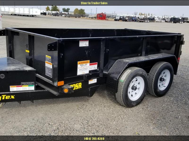 2018 Big Tex 70SR 5X10 Dump Trailer