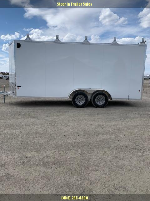 2018 EZ Hauler EZEC7X18UCP-IF Enclosed Cargo Trailer