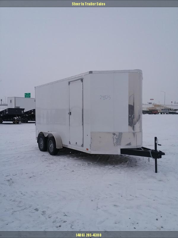 2019 Look Trailers 7x14 Vision Enclosed Cargo Trailer