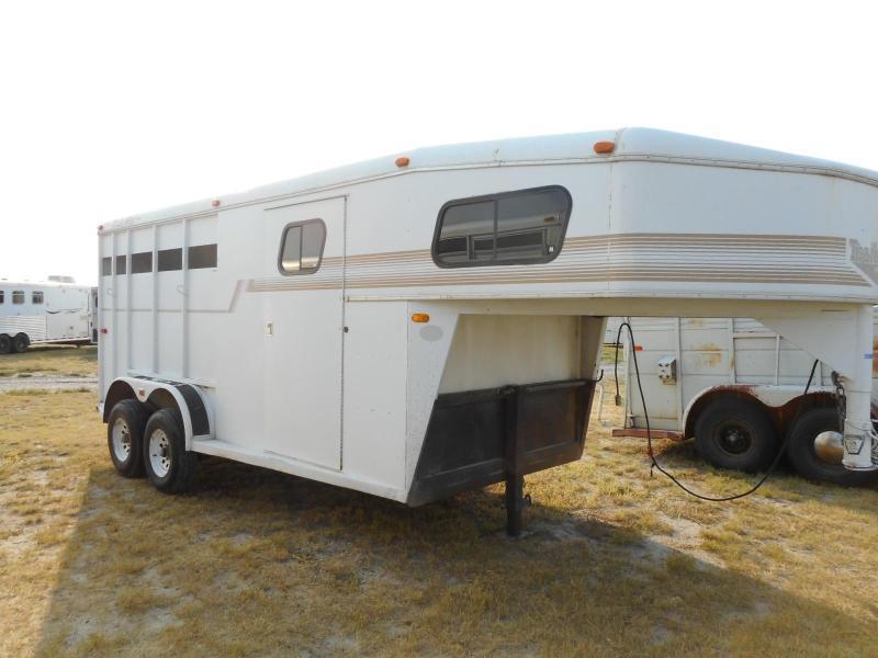 1995 Trails West  Santa Fe Horse Trailer