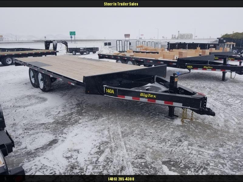 2018 Big Tex 14OA-21+3 Flatbed Trailer