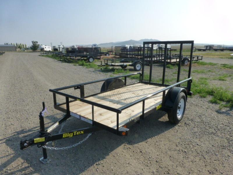 2018 Big Tex 30SA-10 Utility Trailer