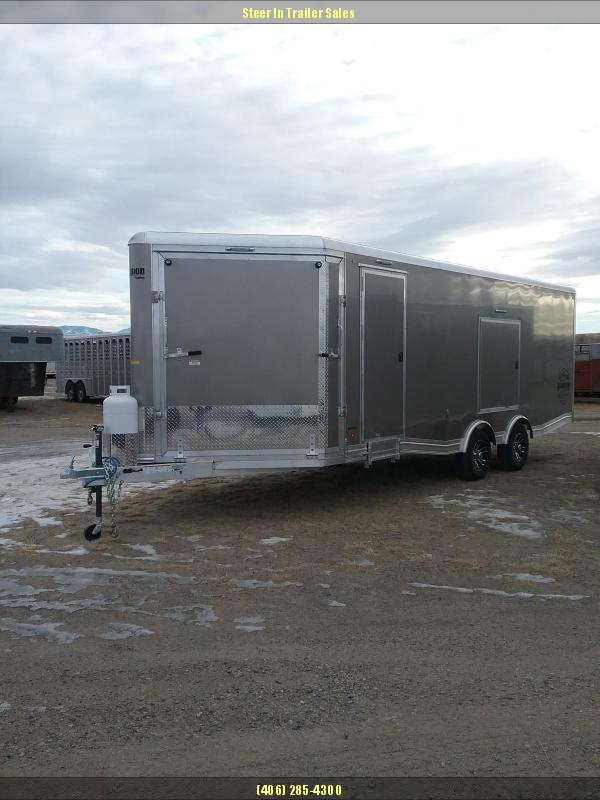 2019 Mission 8.5X22 Snowmobile Trailer