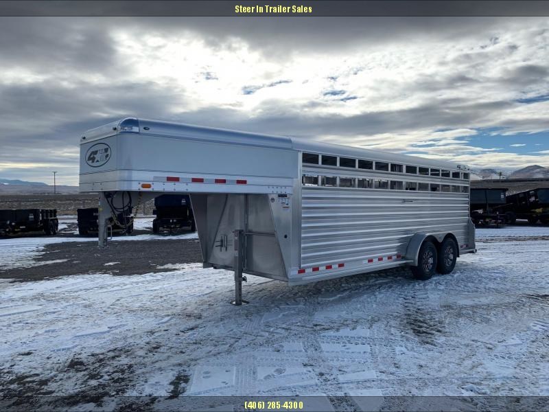 2019 4-Star 20' Stock Trailer