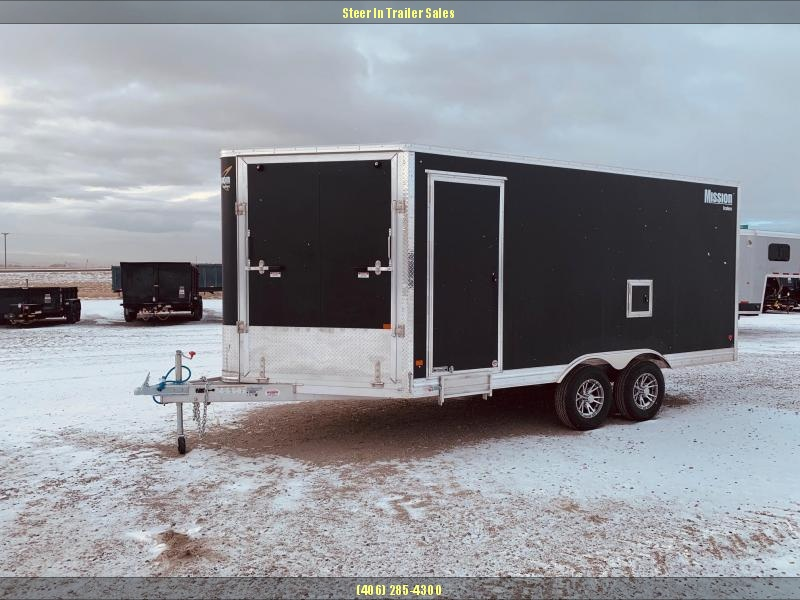 2019 Mission 8.5X16 All Sport Snowmobile Trailer