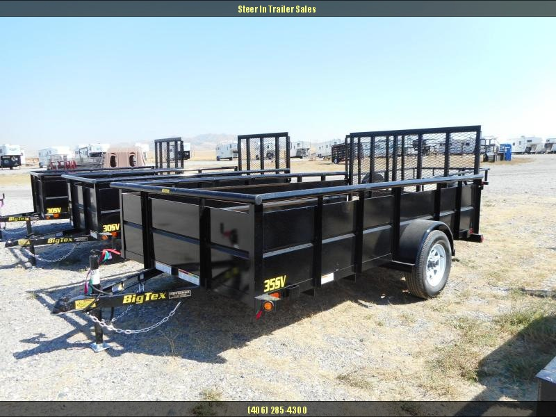 2018 Big Tex  35SV-12BK Utility Trailer