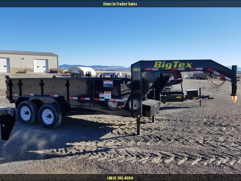 2018 Big Tex 14GX-14 GN Dump Trailer