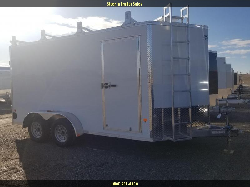 2018 EZ Hauler 7X14 Ultimate Contractor Enclosed Cargo Trailer