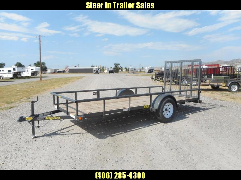 2017 Big Tex 30SA-14 Utility Trailer