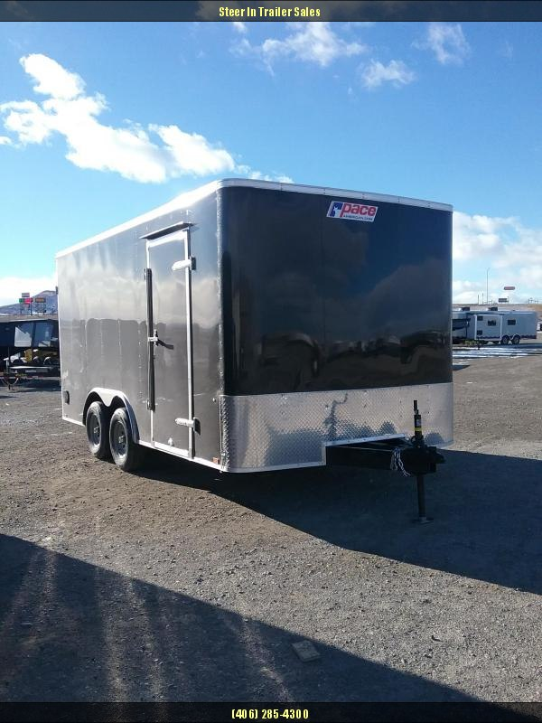 2019 Pace 8.5X16 Enclosed Cargo Trailer