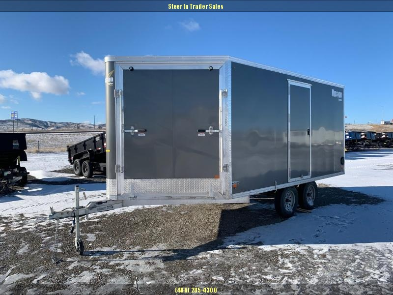 2019 Mission MES101X14DL Snowmobile Trailer