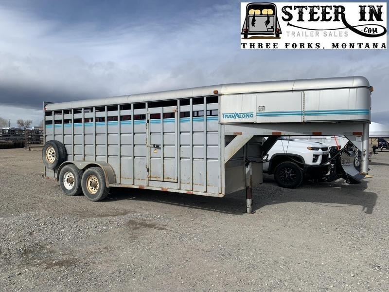 1994 Travalong STOCK TRAILER Livestock Trailer