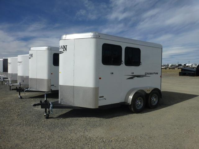 2017 Logan 2H Crossfire Horse Trailer