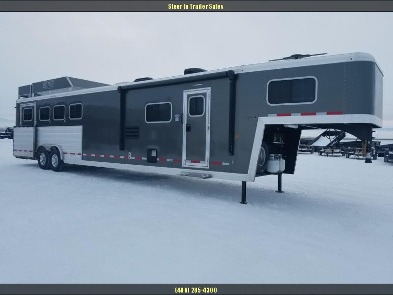 2018 Logan Coach 814 Limited 4H w/ Full-Rear Tack Horse Trailer