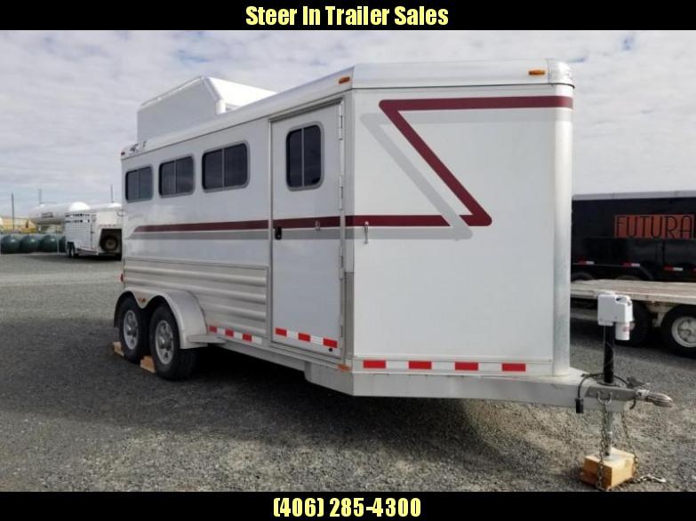 2016 4-Star 3 Horse BP Horse Trailer