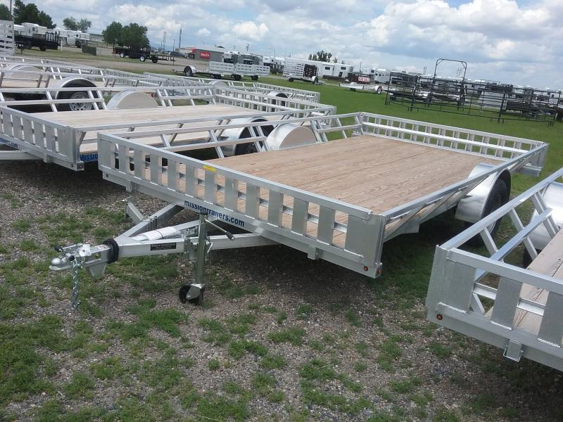 2018 Mission MATV 83X14 ATV Trailer